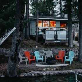 Spider Lake Cabin Moody Cabin Girl