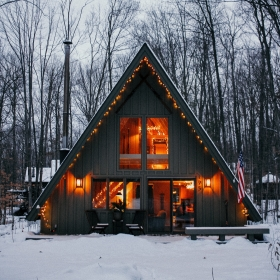 Harbor Springs A-frame Rental